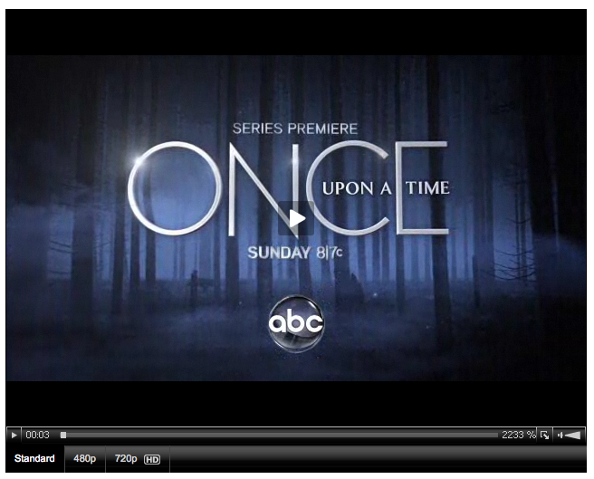 ABC Once Upon A Time Season One Episode One