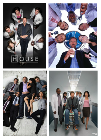 House MD Cast Promo Photos