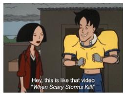 Daria! Musical Storm Episode