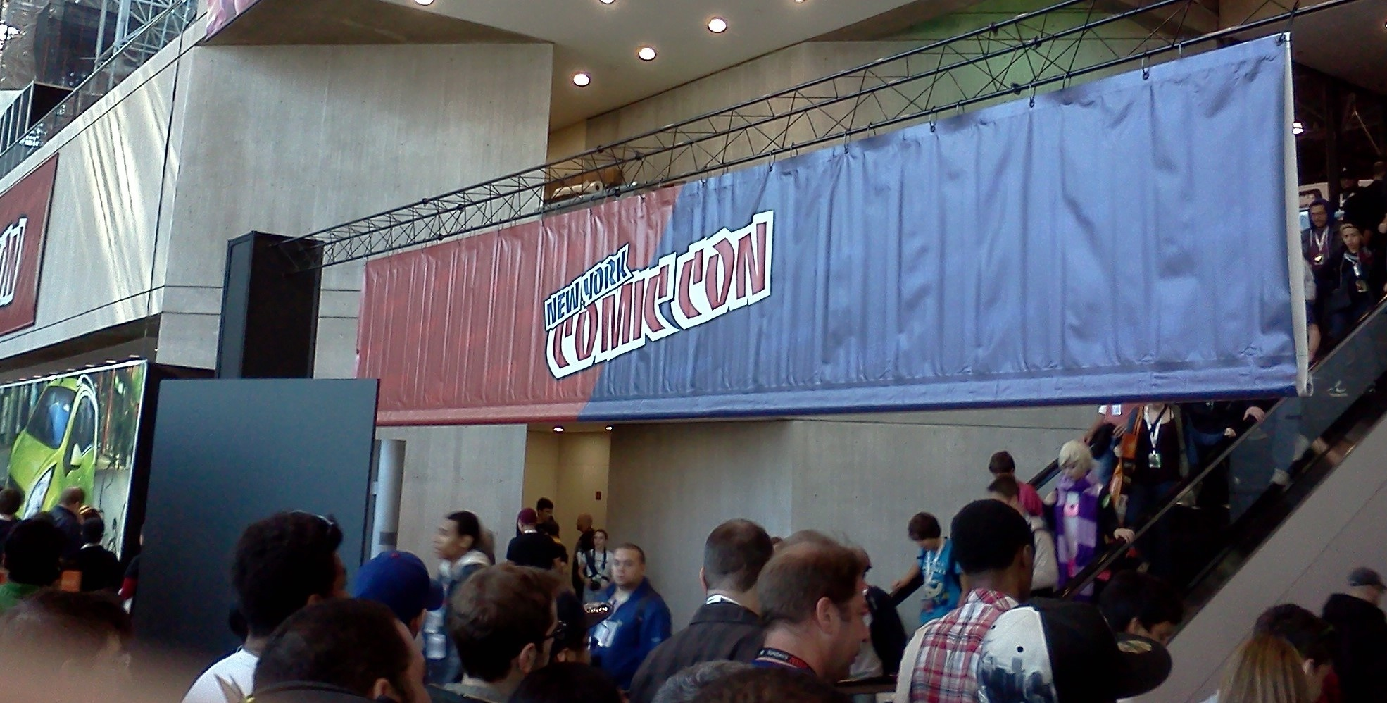 New York Comic Con Sign