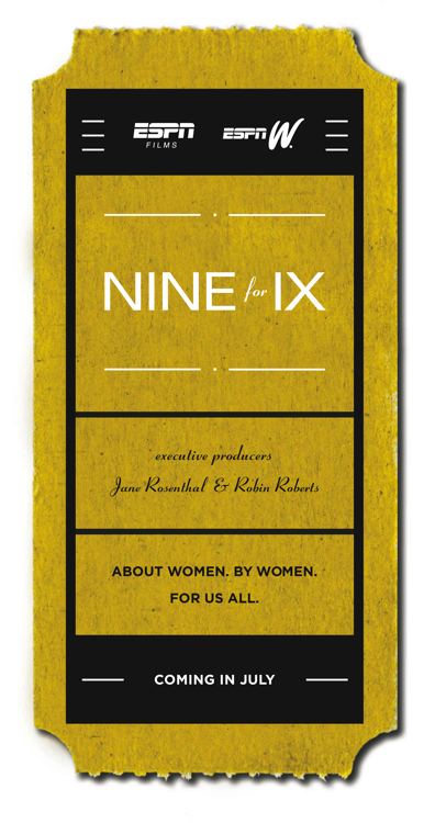 ESPNW Nine for IX Poster