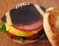 football breakfast sandwich