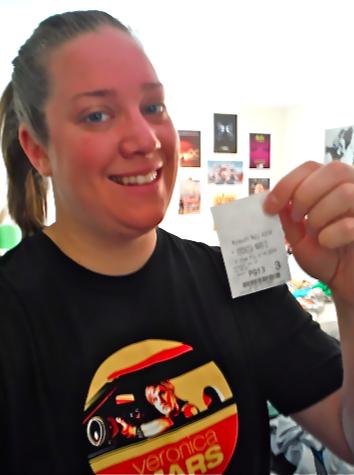 Veronica Mars Movie T-Shirt & Ticket