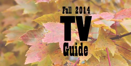 Fall 2014 TV Guide