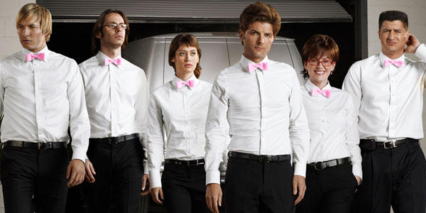 White Shirt Pink Bow Tie | Artee Shirt