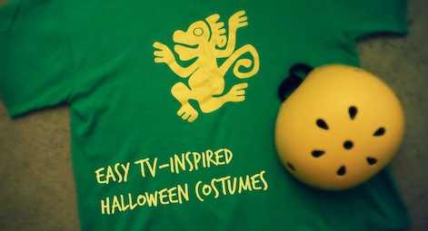 Easy TV Inspired Halloween Costumes