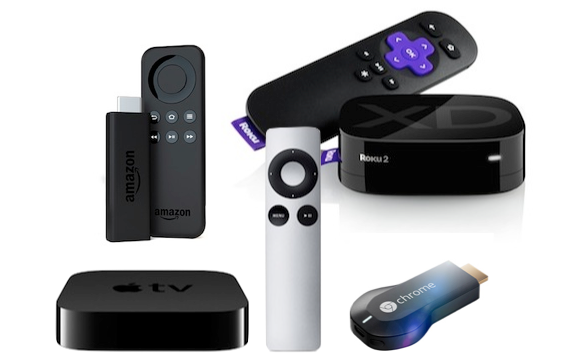 Apple TV, Roku, Amazon Fire TV Stick, & Chromecast Oh My
