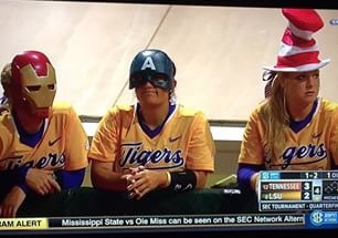 LSU Softball Rally Caps
