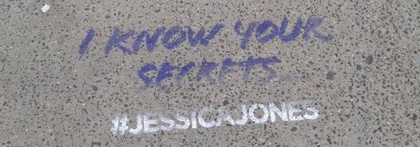Jessica Jones Graffiti