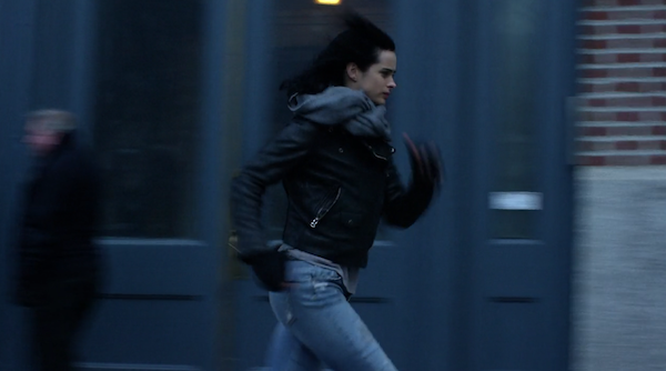 Jessica Jones running