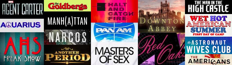 Period Dramas & Comedis 2010-2015
