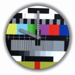 Color Bars Clock