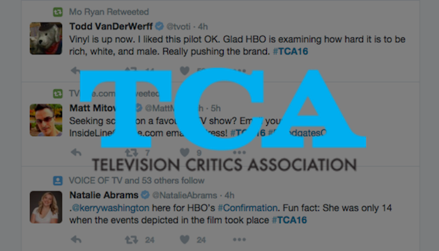 Television Critics to Follow on Twitter During the TCAs