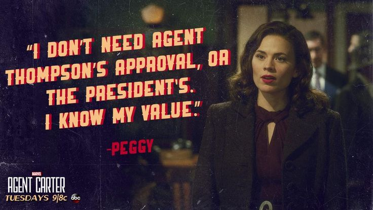 Agent Carter Know My Value
