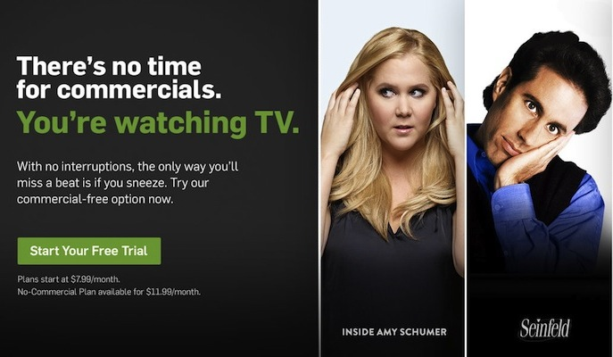 Hulu Paid Subscription Only