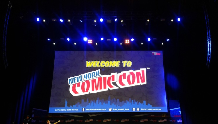 TV Panels and More at NYCC 2016