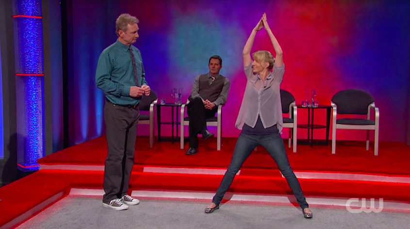 Heather Morris on Whose Line is it Anyway?