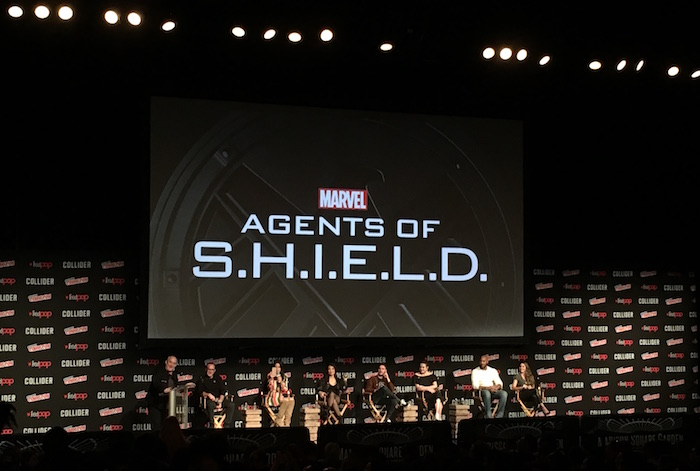 Agents of SHIELD panel at NYCC