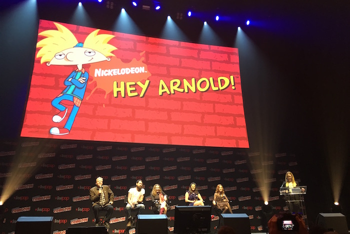 Hey Arnold! movie NYCC Panel
