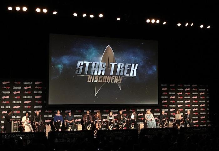 Star Trek Discovery NYCC panel