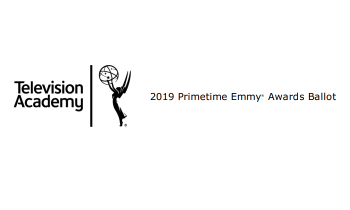 Browse the 2019 Emmy Awards Nominating Ballots For Fun