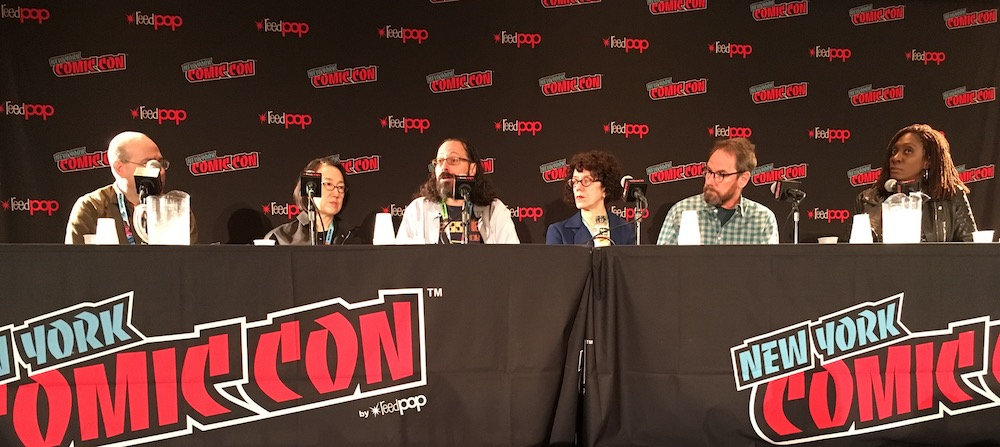 "Highlights From the ""We Wrote Your Childhood"" Panel at NYCC 2019"