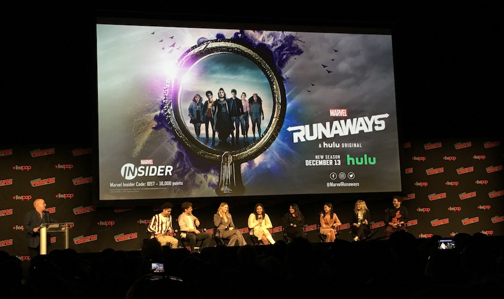 Highlights From The Marvel Runaways Panel at NYCC 2019