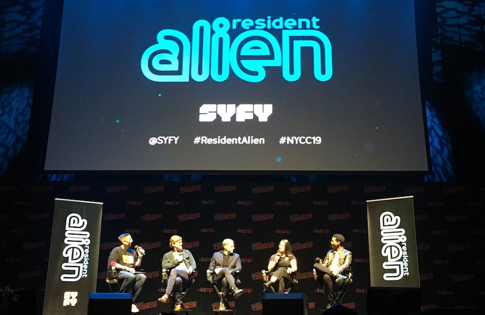 Highlights From the Resident Alien Panel at NYCC 2019